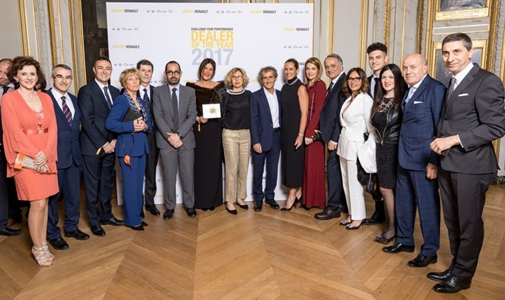 """Dealer of the year"": Autovittani premiata da Renault tra i suoi migliori concessionari"