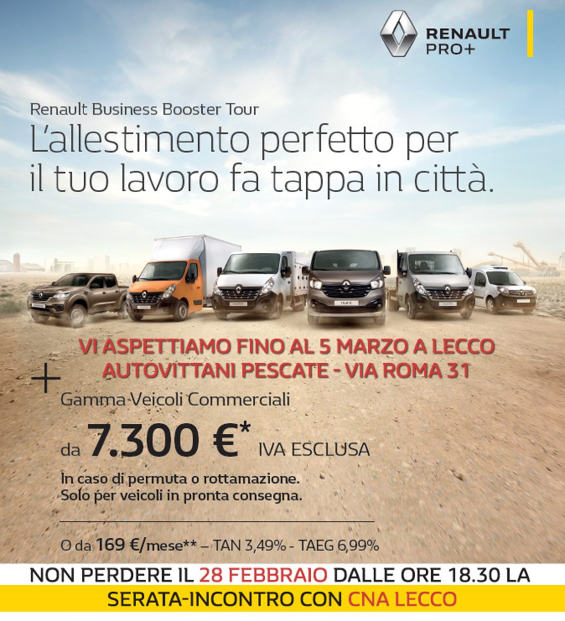 Veicoli Commerciali Renault - Business Booster Tour