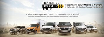 Business Booster Tour - Renault Veicoli Commerciali