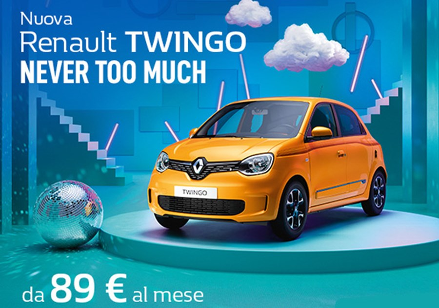 NUOVA TWINGO - Never Too Much