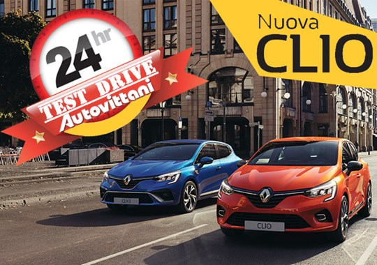 TEST DRIVE 24h - NUOVA RENAULT CLIO