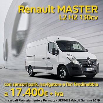 Renault MASTER in offerta a 17.400€ + iva