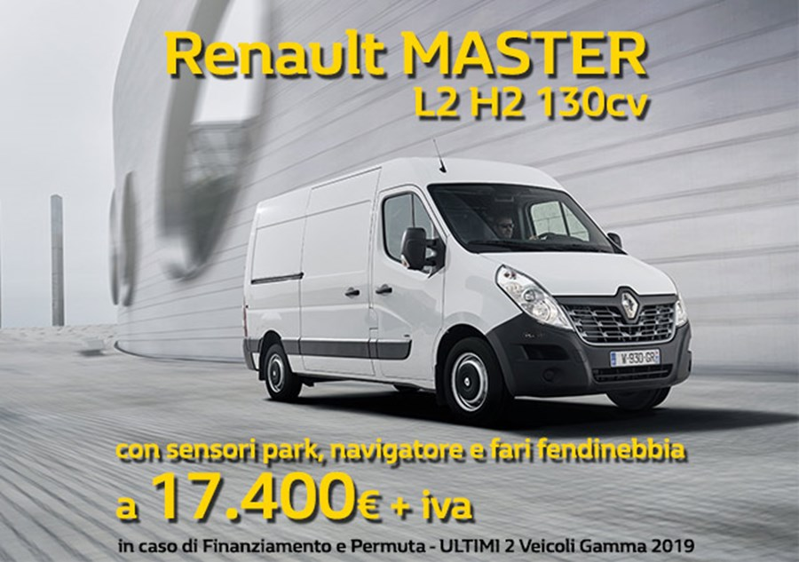 Renault MASTER tuo a soli 17.400€