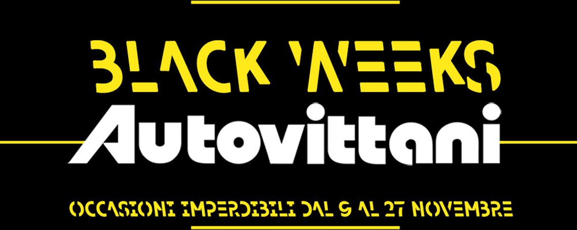 Black weeks Autovittani